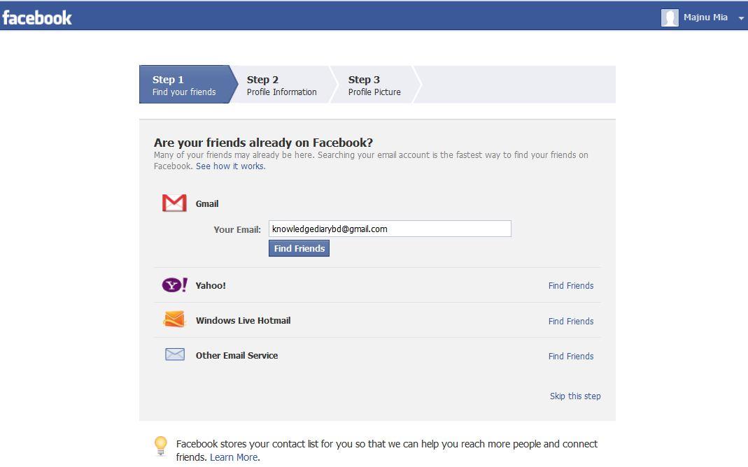 How To Create A New Facebook Account Easytechtips 24